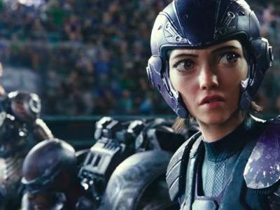 'Alita: Battle Angel' Clip: Alita Wrecks the Competition in Motorball