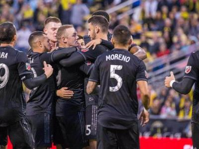 Wayne Rooney strikes as D.C. United beat Columbus Crew to stay atop East