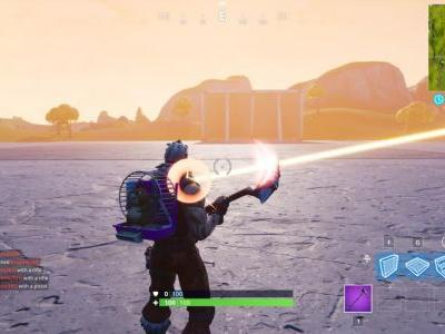 Fortnite's Map Got The Block During The Game Awards