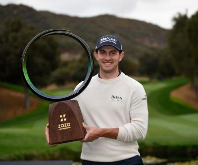 Cantlay rallies to win Zozo Championship with 9-birdie Sunday