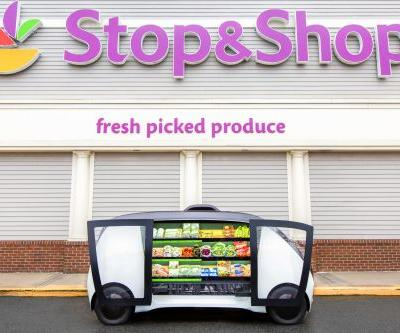 On-demand, self-driving vehicles to bring groceries right to your doorstep