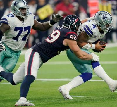 Watson helps Texans to 19-16 win over Cowboys in overtime