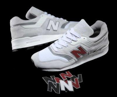 "New Balance 997 Now Equipped With Switchable ""N"" Logos"