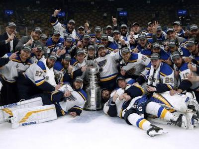 St. Louis can stop singing the blues after first Stanley Cup triumph