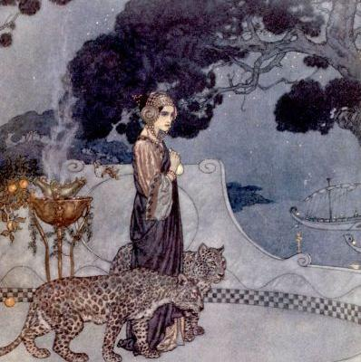 Edmund Dulac Book Illustrations