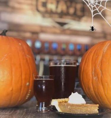 Crave Hot Dogs and BBQ Celebrates Fall with Pumpkin Beer, Pumpkin Pie, Wings and More!