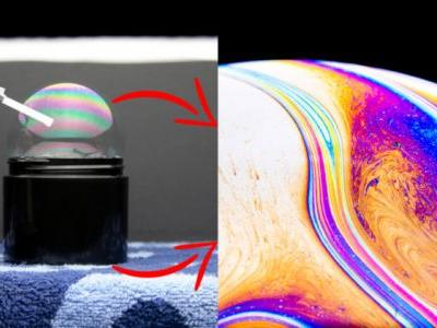 How to Shoot Otherworldly Macro Photos of Soap Bubbles