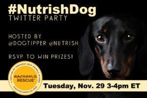 Thanks for a great NutrishDog Twitter Party!