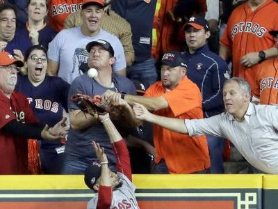Fan interference wipes out possible homer for Altuve in ALCS