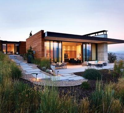 Park City Modern House / Sparano + Mooney Architecture