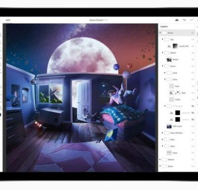 Adobe Announces 'Real' Photoshop Coming To The iPad In 2019
