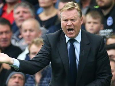 Everton sack Koeman after woeful start to season