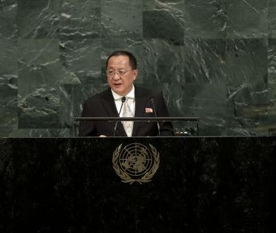 North Korean official insults Trump, touts nuclear program in UN speech