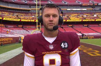 Kyle Allen on Washington's win over Cowboys: 'We've gotta take it and run with it'