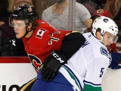 Canucks reassign defenceman Philip Holm to AHL