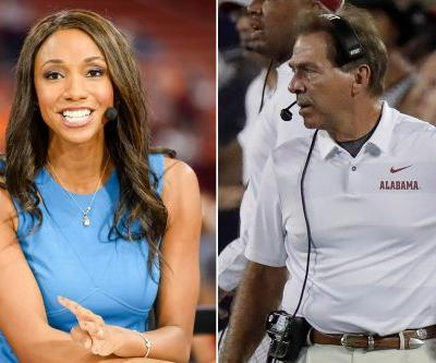Nick Saban lashes out at ESPN reporter for QB question