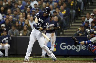 Brewers relief pitcher Woodruff homers off Kershaw in NLCS