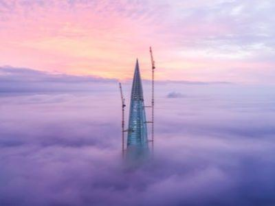 Europe's Tallest Skyscraper Approaches Completion in St Petersburg