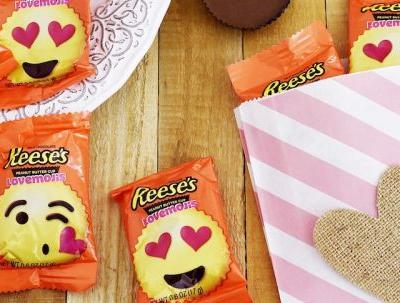Reese's New Peanut Butter Cup Lovemojis Are The Cutest Valentine's Day Treats Yet
