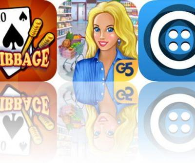 Today's Apps Gone Free: Cribbage, Supermarket Management 2 and Smash the Code