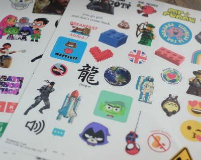 Competition for Stationery Geeks! StickerYou Review