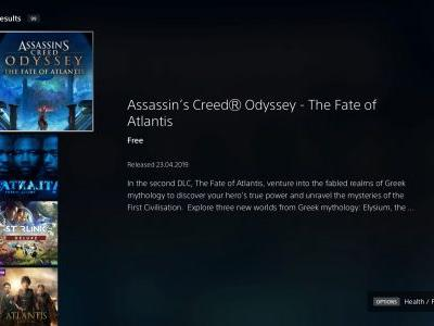 How to start The Fate of Atlantis: Fields of Elysium Assassin's Creed Odyssey DLC