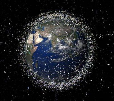 Two huge chunks of space junk almost collided over Earth