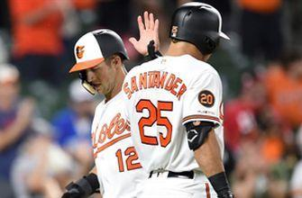 Orioles score on 4 doubles in 4-2 win over Toronto