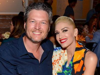 Blake Shelton Stars In Gwen Stefani's New Holiday Music Video And It's Adorable