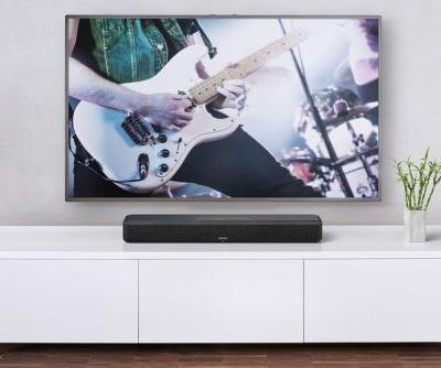 Denon's Home Sound Bar 550 all-in-one soundbar is here to boost your TV's audio