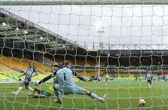Brighton nearly safe after beating last-place Norwich 1-0