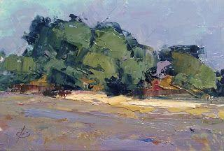 ABSTRACT LANDSCAPE by TOM BROWN