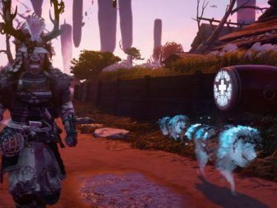 You Can Pet A Dog Until It Fights On Your Side In Ghost Of Tsushima: Legends