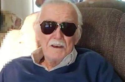 Bummed Out Stan Lee Wishes Fans the Best as He Skips