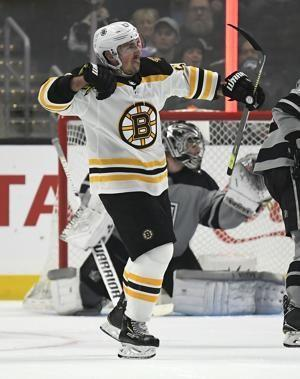 Bruins knock off Kings 4-2 for 5th straight win