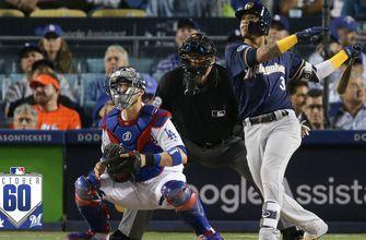 Watch the best 60 seconds from Brewers vs. Dodgers NLCS Game 3 October60