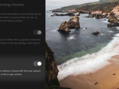 Adobe Lightroom Mobile for iOS Can Simulate Long Exposure Photos