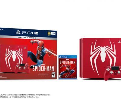 Introducing the Limited Edition Marvel's Spider-Man PS4 Pro Bundle