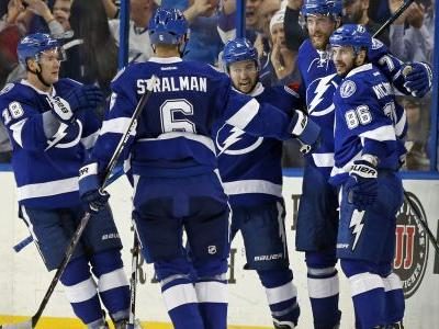 Lightning clinch Atlantic Division, Presidents' Trophy