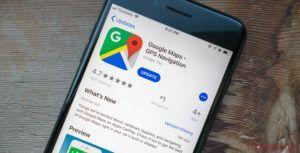 Send messages to your favourite businesses using Google Maps