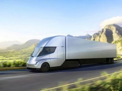 The Tesla Semi Truck Will Go 0-60 In 5 Seconds With A Claimed 500-Mile Range