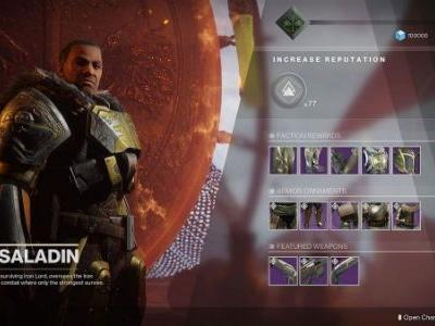 Destiny 2: Iron Banner events, updates and bounties