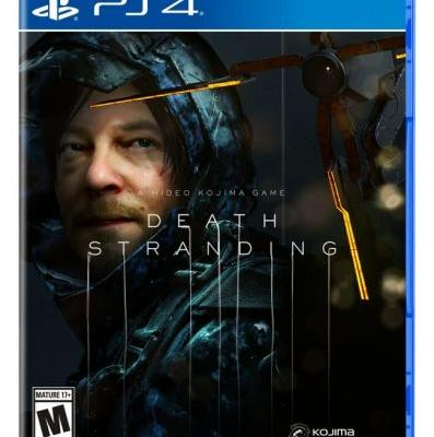 Death Stranding Standard Edition and Steelbook Cover Art Revealed