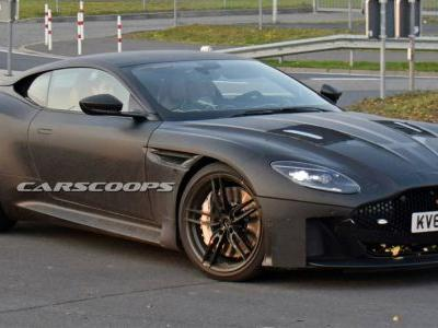 Aston Martin Vanquish Prototype Looks Like A DB11 On Steroids
