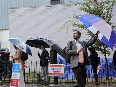 Election Day storms down power lines across Deep South