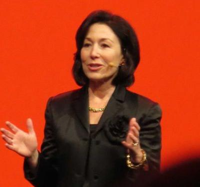 Oracle's revenue didn't drop like Wall Street thought it would, and the stock jumps a little