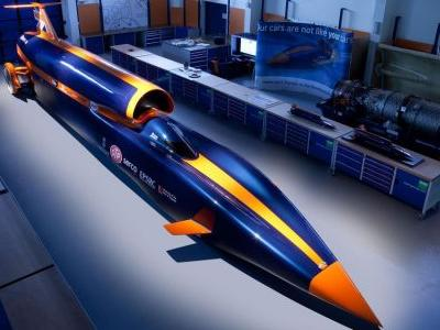 The Bloodhound SSC 1000mph Car Is For Sale For £250,000
