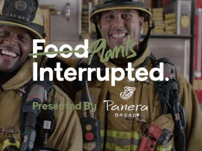 """Kevin Curry and Rip Esselstyn celebrate Meatless Monday in Panera Bread's """"Food Interrupted"""" series"""
