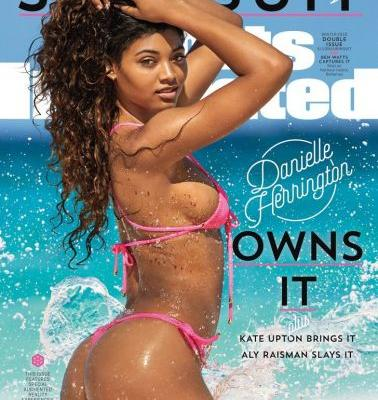 Danielle Herrington Is the Third Black Model to EVER Grace the Cover of SI's Swimsuit Issue
