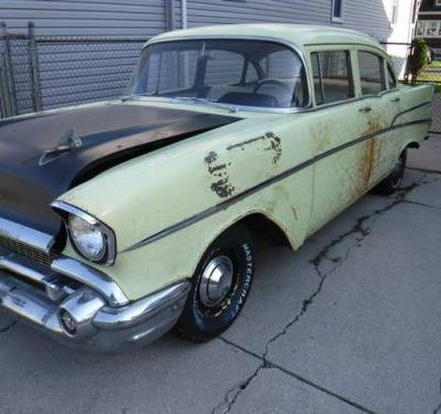 At $8,500, Is This 1957 Chevy 210 A Patina'd Peach?